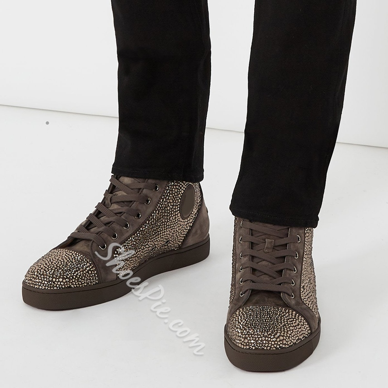 Spring New Arrival Casual Lace-Up Men's Sneakers