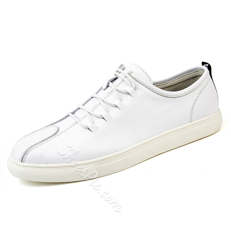 Men's Skate Shoes Casual Lace-Up Sneakers