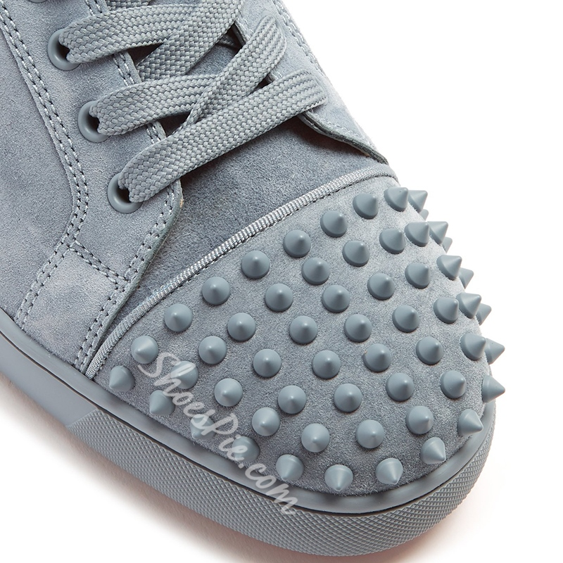 Fashion Spring Rivet Lace-Up Men's Sneakers