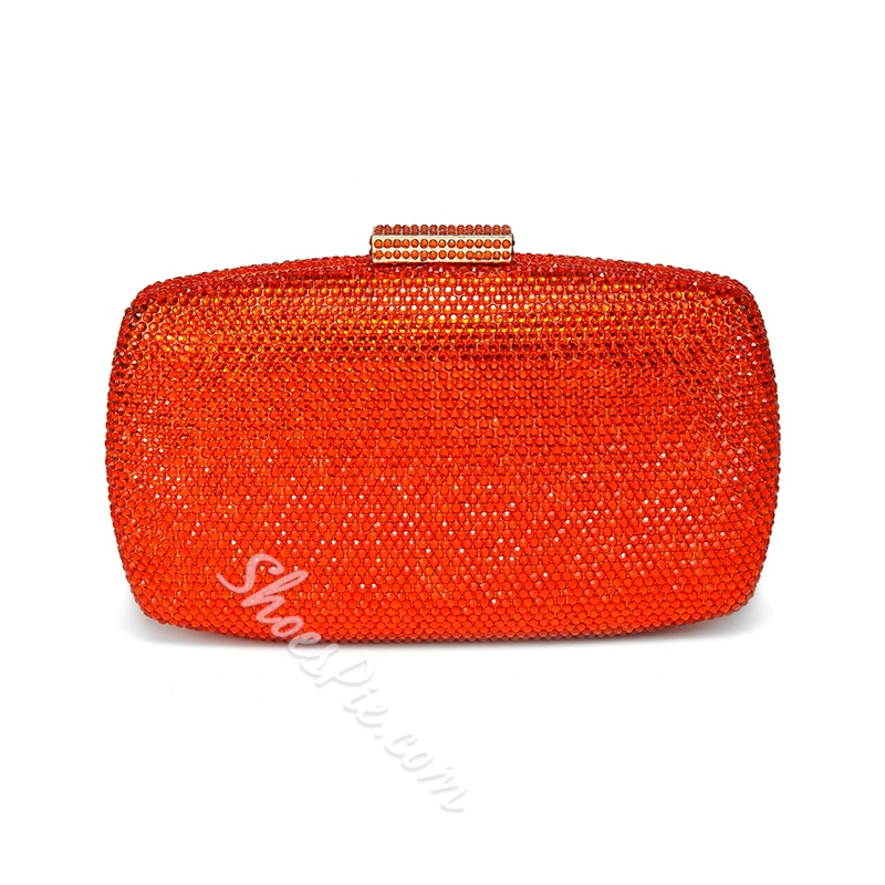 Shoespie Casual Rhinestone Decoration Women Clutch