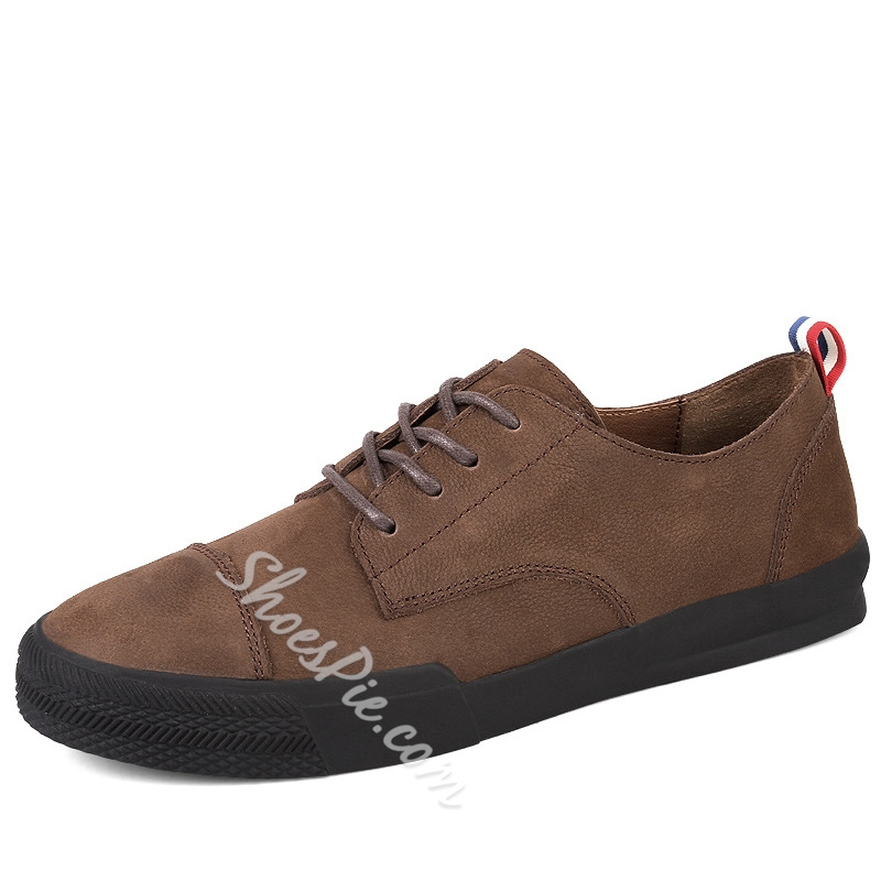 Casual Men's Sneakers Lace-Up