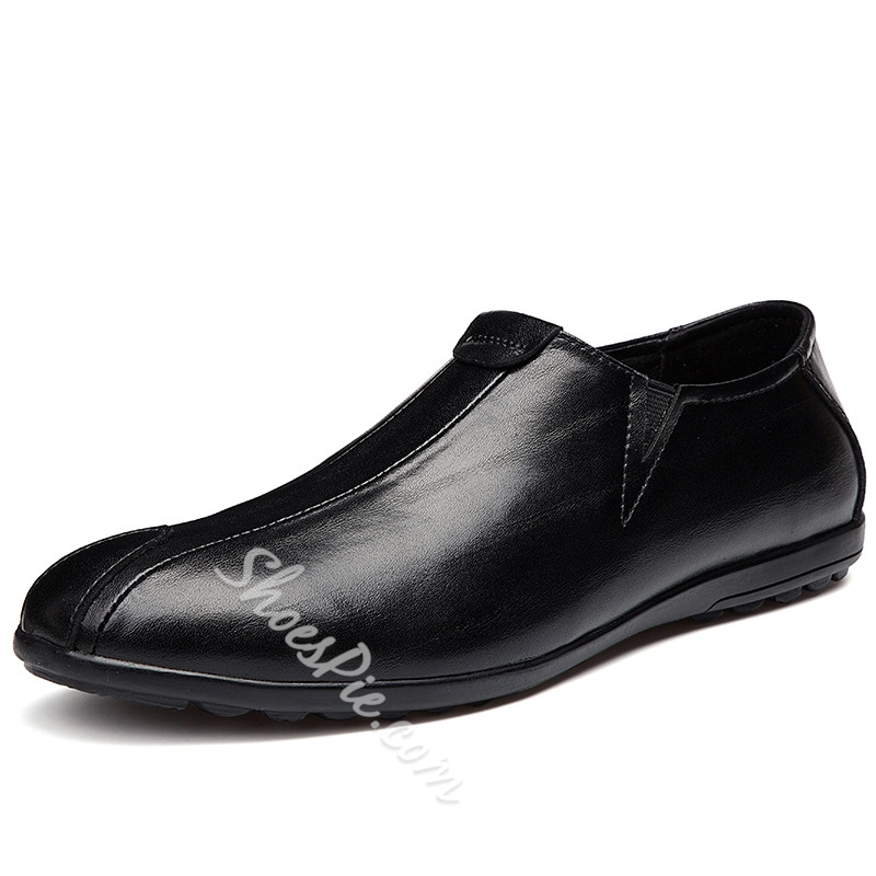 Shoespie Professional Round Toe Men's Loafers