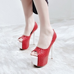 Peep Toe Platform Sexy High Stiletto Heels