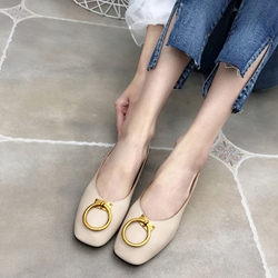 Sequin Square Toe Women's Casual Shoes