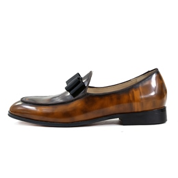 Slip-On Men's Loafers Bowknot