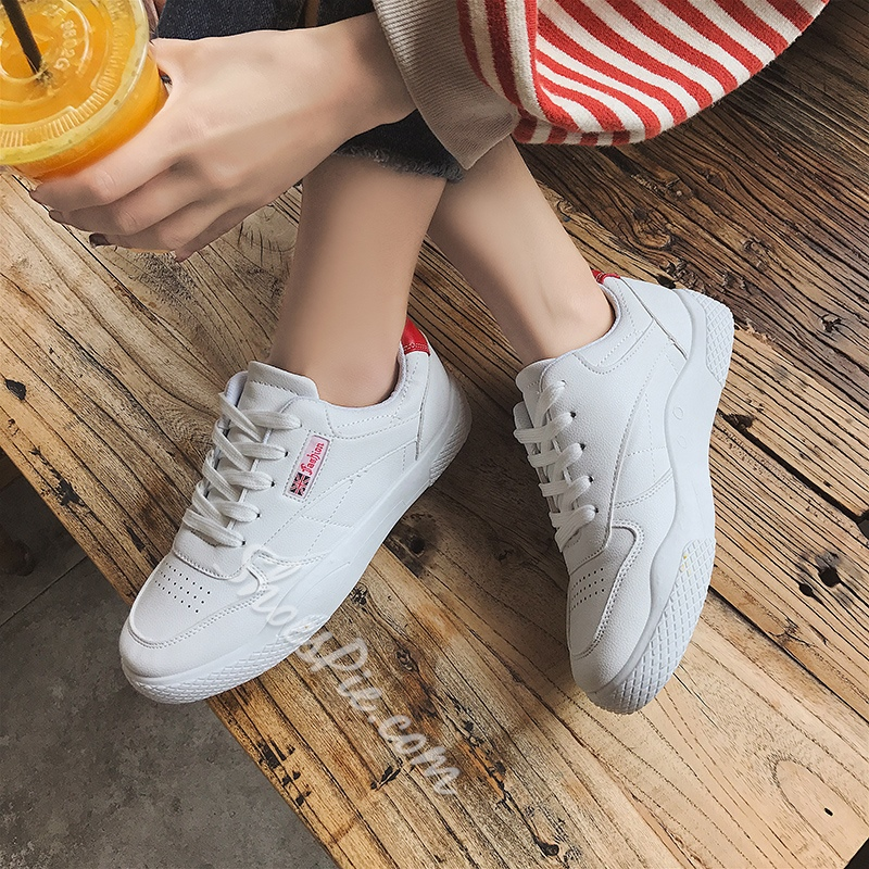 Lace-Up Platform Women's Casual Sneakers