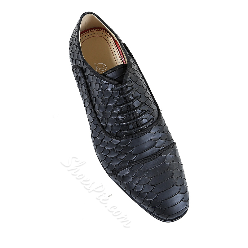 Casual Men's Oxfords Lace-Up Shoes