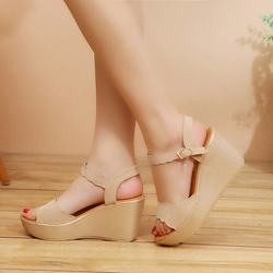 shoespie summer wedge sandals