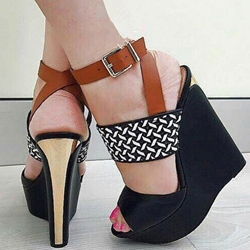 Summer Women's Wedge Heel Sandals Platform