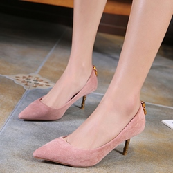 Plain Pointed Toe Stiletto Heels