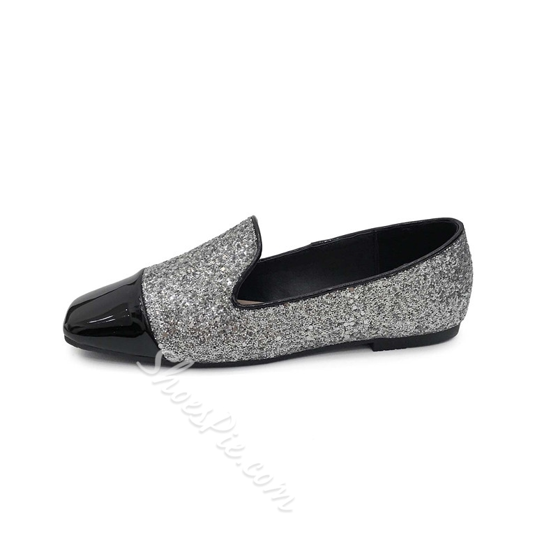 Sequin Sexy Block Heel Women's Shoes