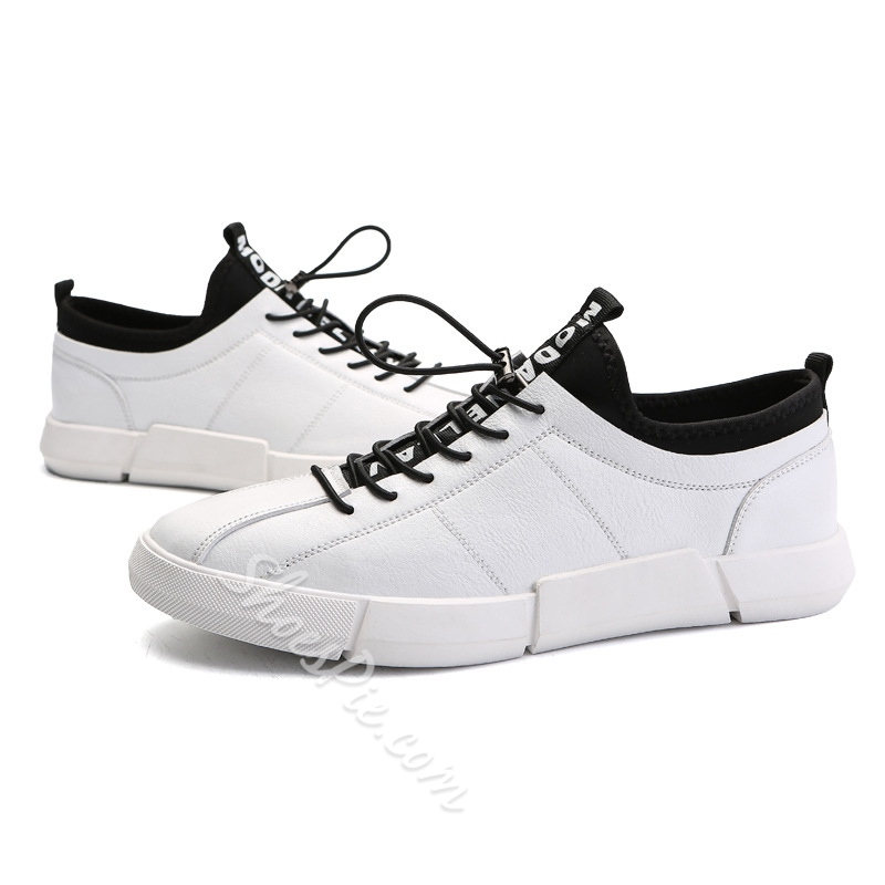 Men's Sneakers Elastic Band Skate shoes