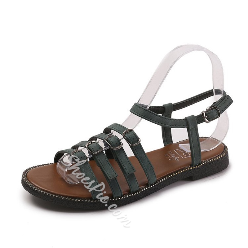 Summer Flat Sandals Casual Women's Shoes