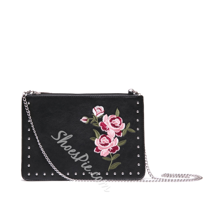 Chinese Style Embroidery Cross Body Bag