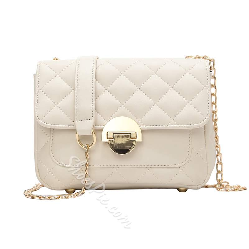 Shoespie Trendy Solid Color Cross Body Bag