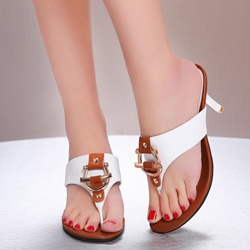 Casual Thong Slip-On Stiletto Mules Heels