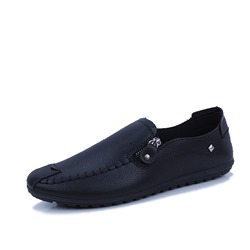 Casual Zipper Men's Loafers