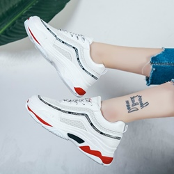 Mesh Lace-Up Women's Sneakers
