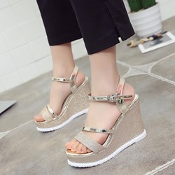 Summer Platform Wedge Heel Sandals