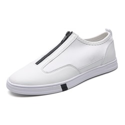 Casual Sneakers Zipper Men's Loafers
