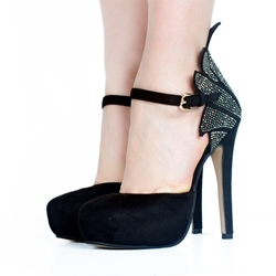 Black Platform High Stiletto Heels