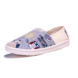 Cartoon Slip-On Women's Boat Shoes