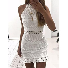 Shoespie Pullover Hollow Women's Bodycon Dress