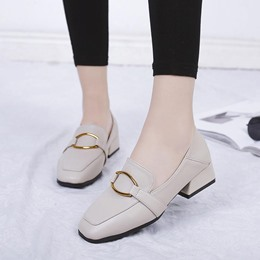 Women's Slip-On Block Heels