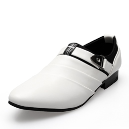 Casual Slip-On Buckle Men's Loafers