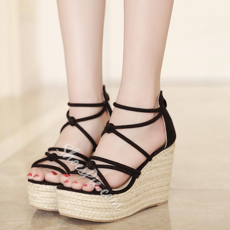 Casual Summer Platform Wedge Heel Sandals