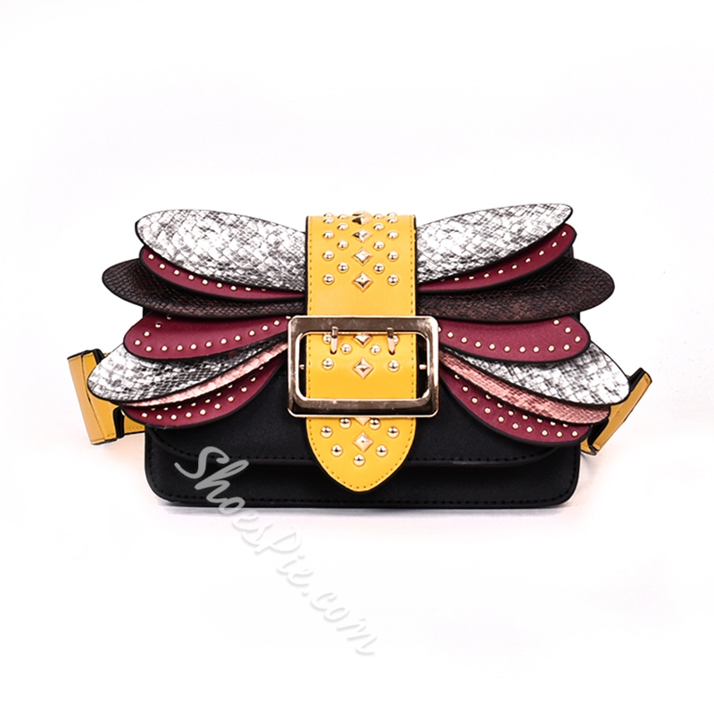 Shoespie Novelty Magnetic Snap Crossbody Bag