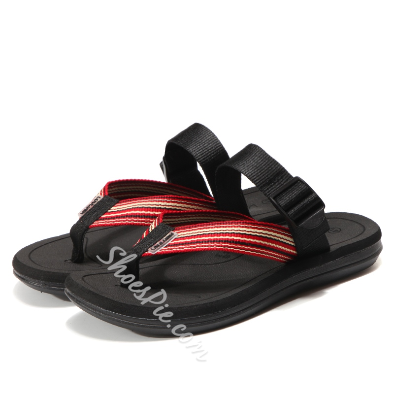 Summer Casual Slip-On Thong Men's Sandals
