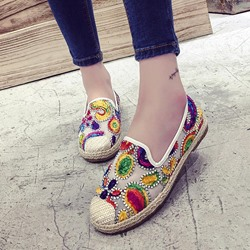 Color Block Slip-On Women's Boat Shoes