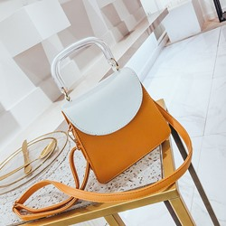 Shoespie Fresh Color Block Handbag