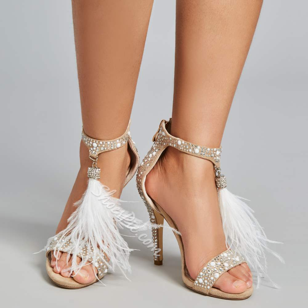 Shoespie Romantic Rhinestone Tassels Wedding Shoes
