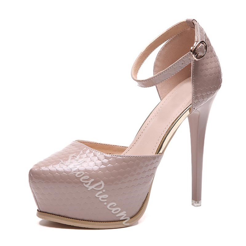 Plain Platform High Stiletto Heels