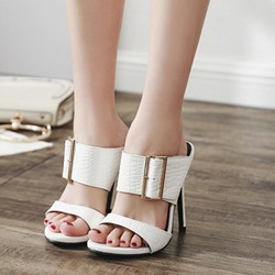 Casual Slip-On Flip Flop Heel Dress Sandals