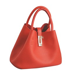 Shoespie PU Plain Soft Tote Bag