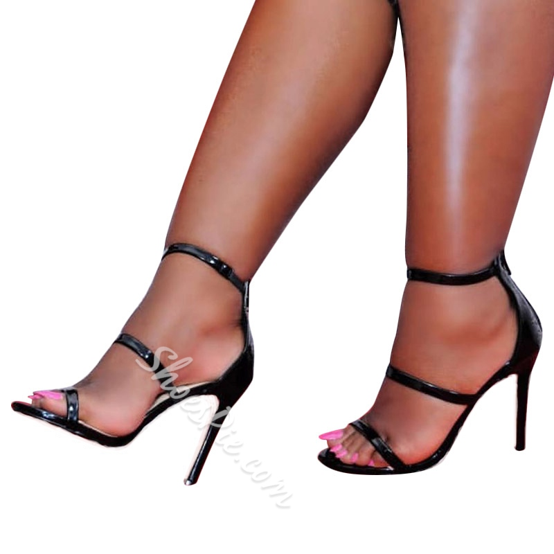 Heel Covering Open Toe Dress Sandals