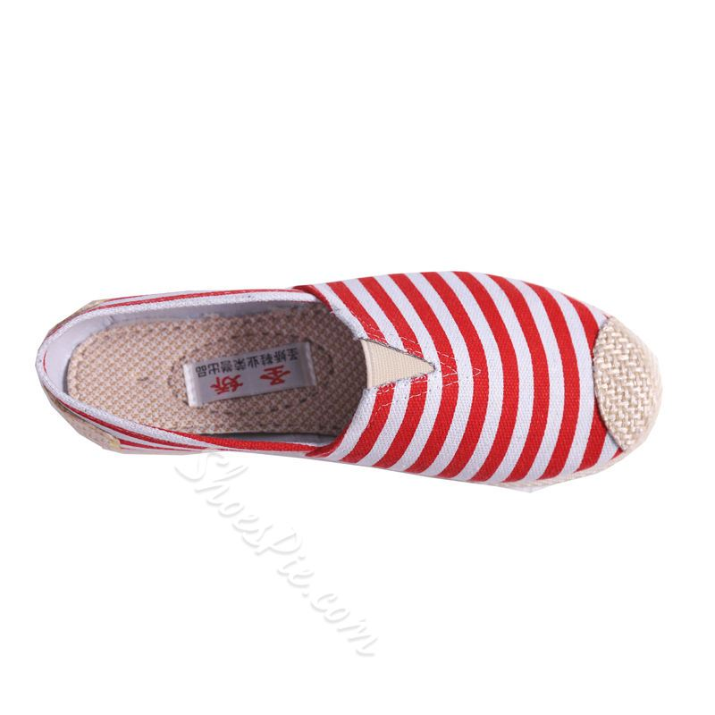 Slip-On Strip Women's Boat Shoes