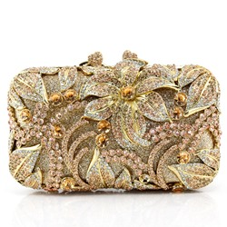Shoespie Luxury Rhinestone Clutch