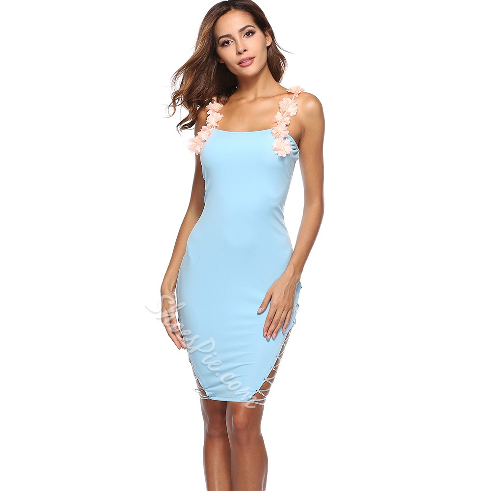 Shoespie Sleeveless Pullover Women's Bodycon Dress