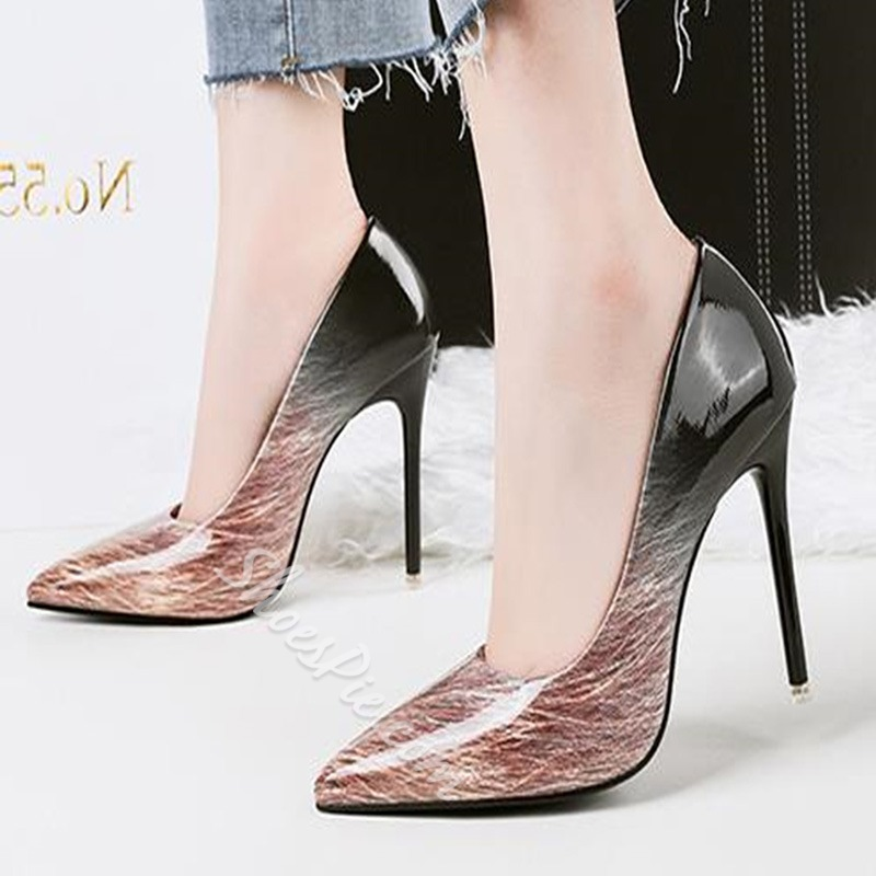 Shoespie summer Pointed Toe Casual Stiletto Heels