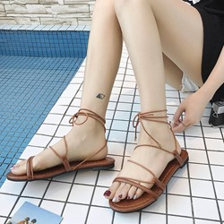 Shoespie Casual Ankle Strap Slide Sandals