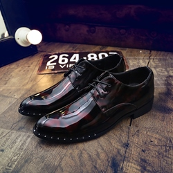 Concise Lace-Up Professional Men's Oxfords