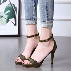 Shoespie Summer Cute Zipper Dress Sandals