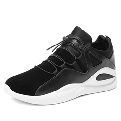 Shoespie Elastic Band Low-Cut Upper Men's Sneakers