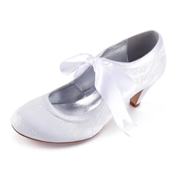 Shoespie Super Cute Lace-Up Bridal Shoes