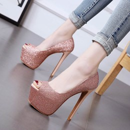 Shoespie Sexy Brilliant Ultra-High Heels