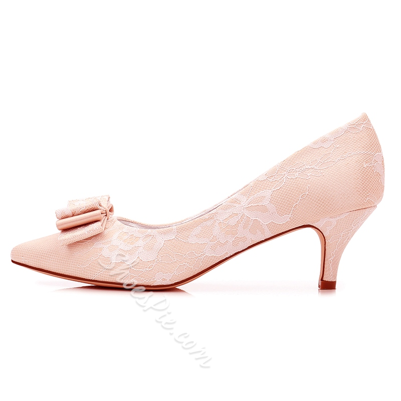 Shoespie Cute Slip-On Wedding Shoes